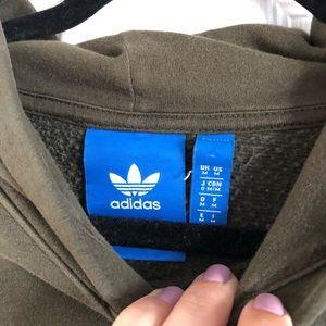 adidas Jackets & Coats - ADIDAS army green hoodie